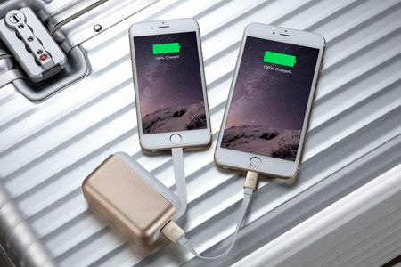 Just Mobile TopGum Power Pack 6000mAh -Gold